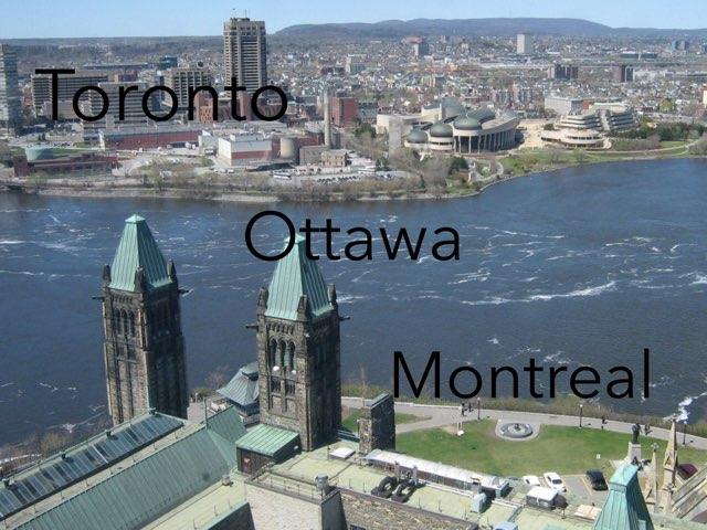 Canada quiz by Diana Vornicu-Eger