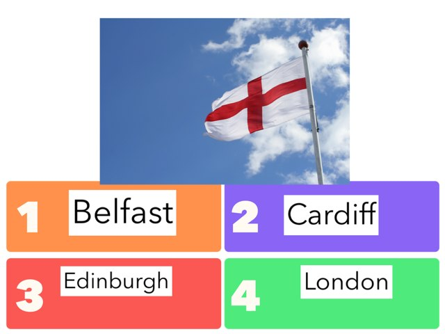 Capital Cities Of The United Kingdom by Heidi Mitton
