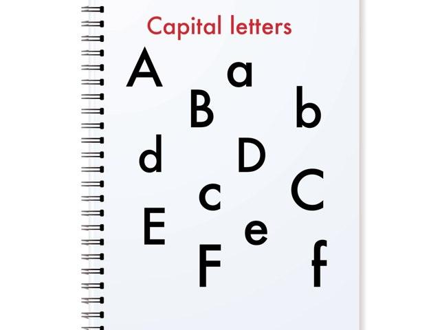 Capital Letters by Tee Borgie