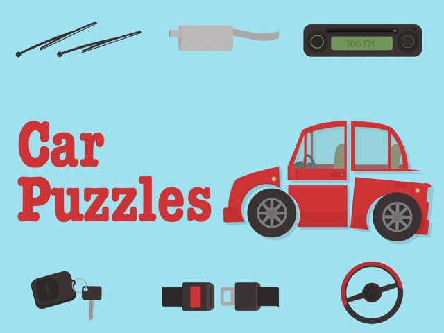 Car Puzzles! by Tiny Tap