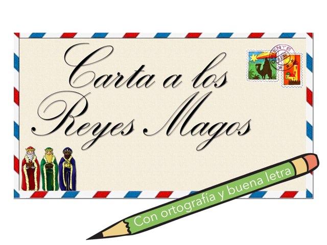 Carta a los Reyes Magos by Elysia Edu