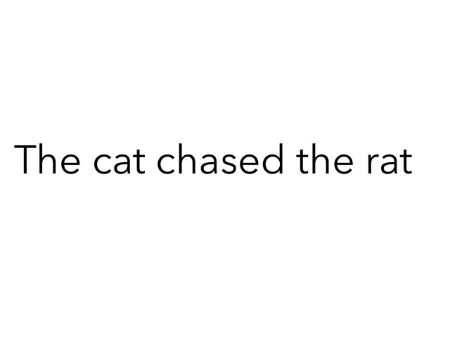 Cat And Rat by John Sharrock