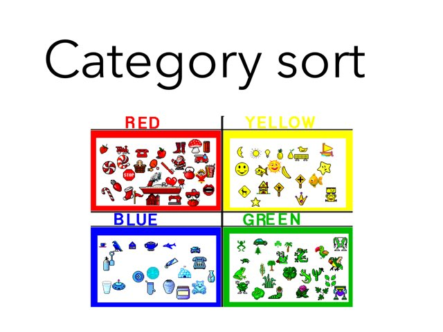 Category Sort by Madonna Nilsen
