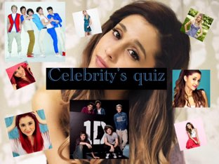 Celebrity's Quiz by Eshaa Pondor