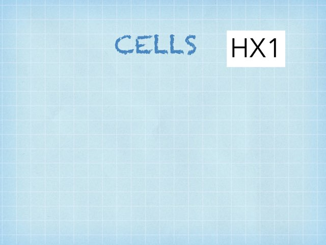 Cells by hx1 beho