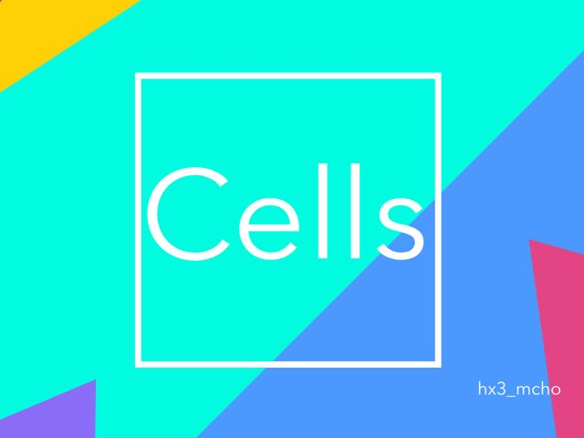 Cells by hx3 mcho