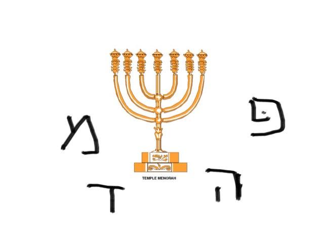 Chanukah Initial Letter Sound by Leah Levi