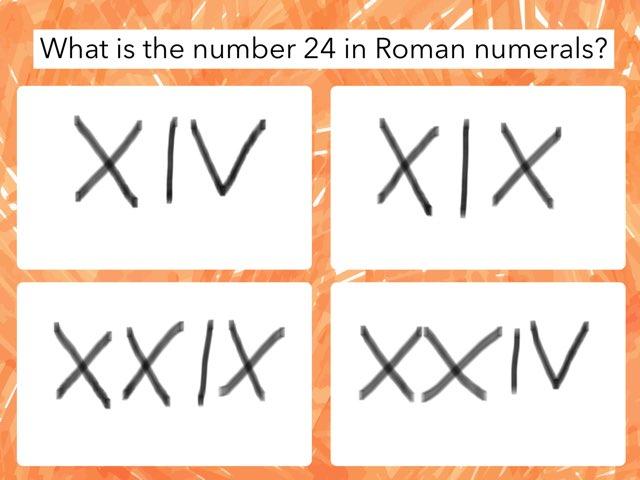Charlie's Numerals by Mr Matthews