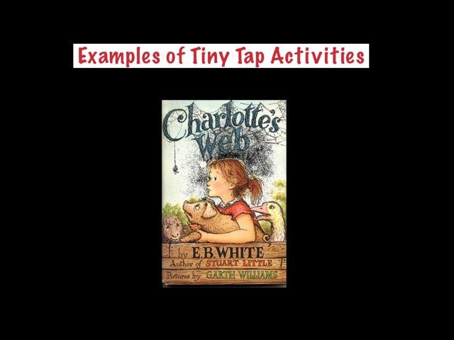 Charlotte's Web Sampler by Maureen Nevers