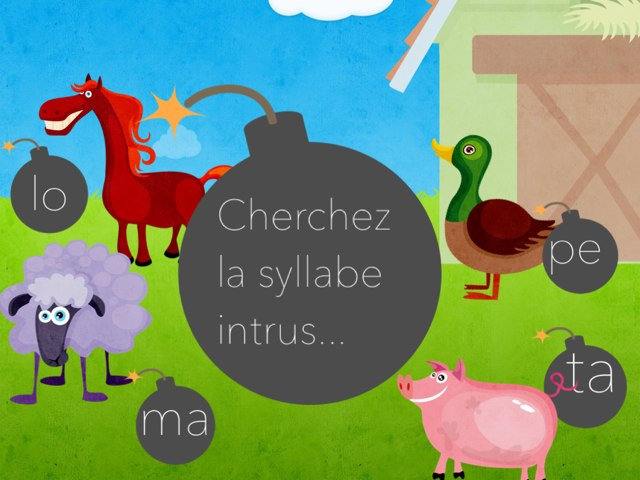 Cherchez La Syllabe Intrus by Alice Turpin