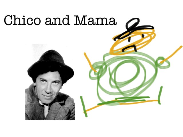 Chico And Mama by Dan Hanssel