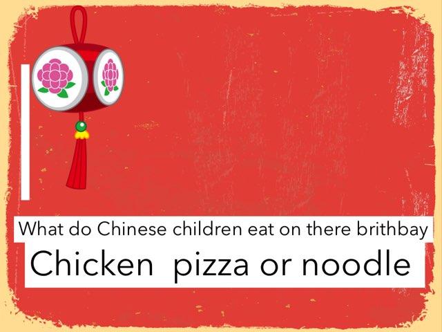 China Food by Paula Isaacson
