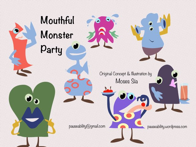 Chinese Mouthful Monsters by Moses Sia