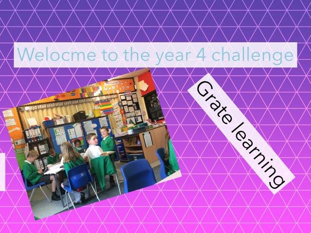 Chloe's Year 4 Quiz by Mr Matthews