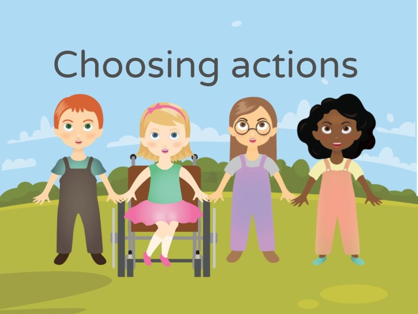 Choose correct action by Ilona Micallef