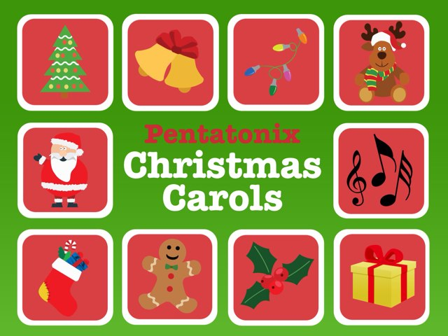 Christmas Carols by Pentatonix by Leslie Burke