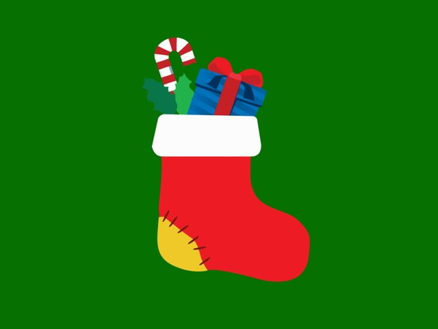 Christmas Sock by Sara Helgesson