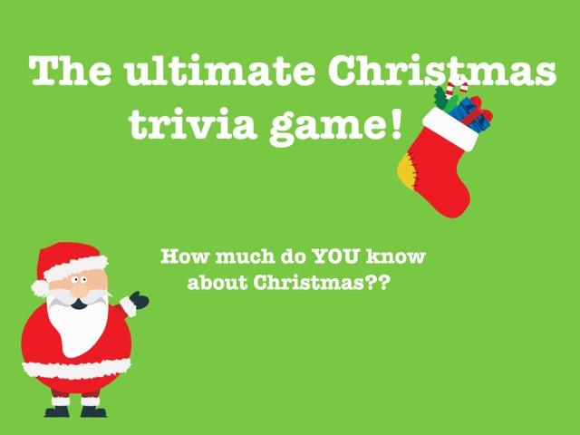 Christmas Trivia! by Nira Skirt