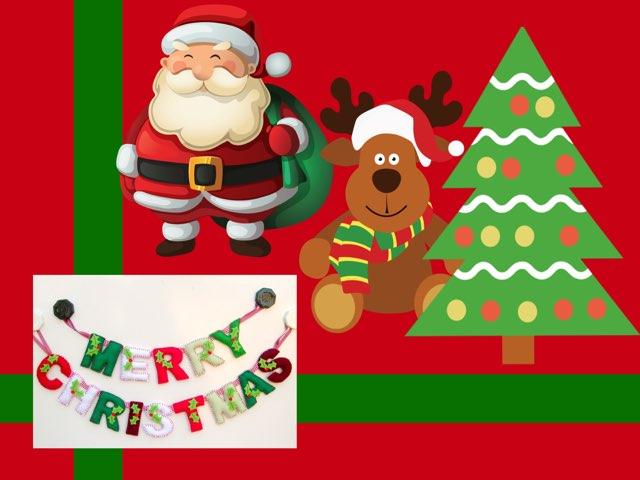 Christmas Vocabulary  by Erica Lynn