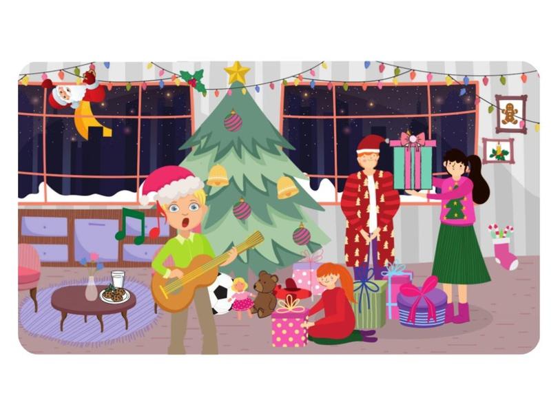 Christmas by Lauren Hamilton Saez