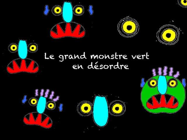 Chronologie Grand Monstre Vert  by Marie S