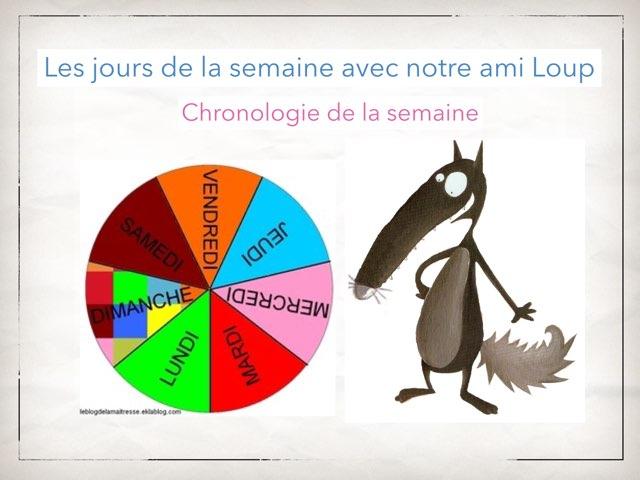 Chronologie et jours by Martine Freymann