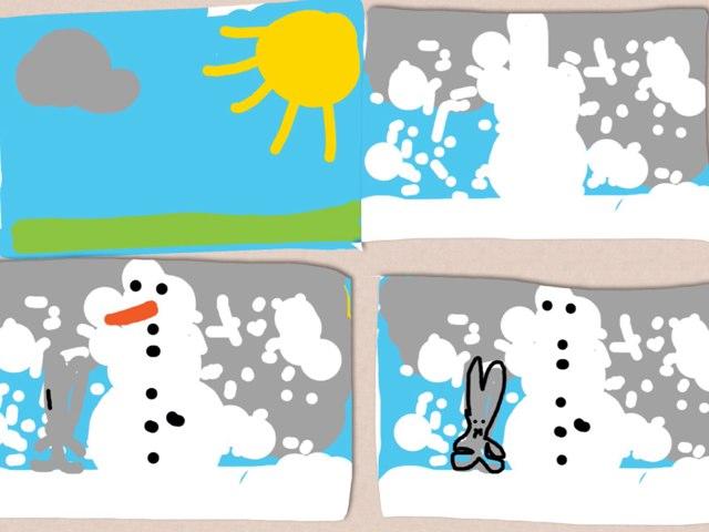 Chubby Little Snowman by Barbi Bujtas