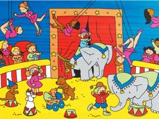 Circus Groep 1 by Sander Gordijn