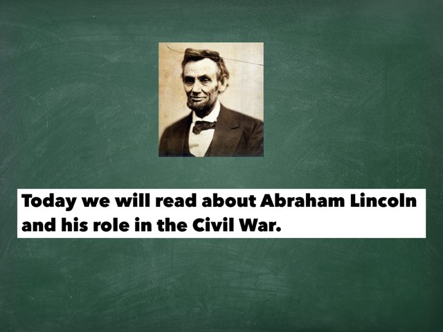 Civil War- Lincoln by Amanda Bonser