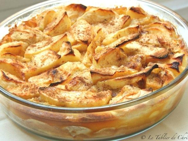 Clafoutis Aux Pommes by Saja Enfant