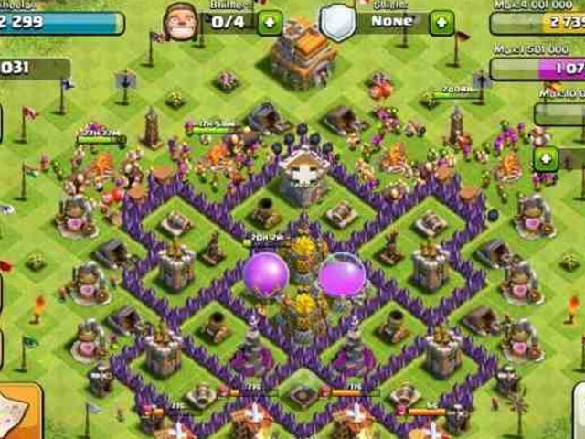 Clash Of Clans by Ibon Rebelo