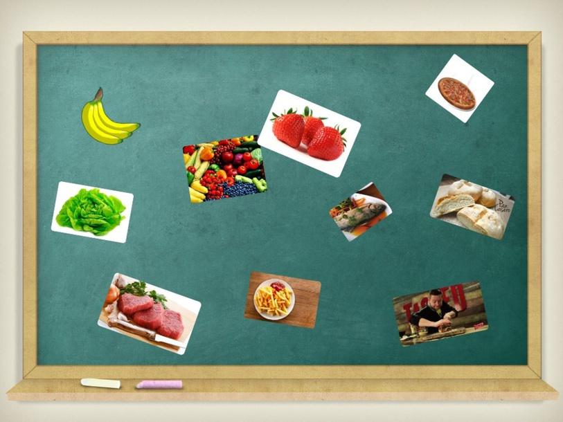 Clasificación de los alimentos saludables y no tan saludables   by Claudia Serpa