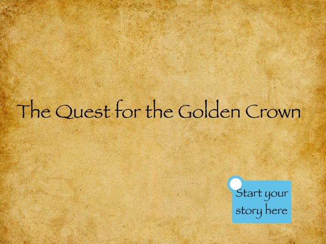 Class 4A Quest For The Golden Crown by Mr Parkinson