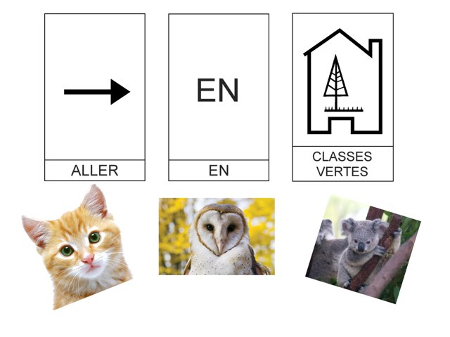 Classes Vertes Vocabulaire Bagages by Hugues Wallaby