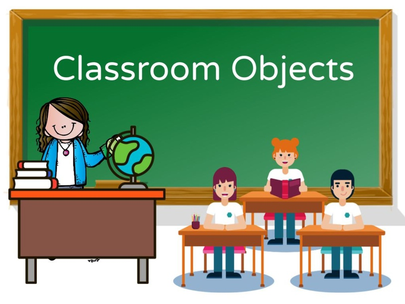 Classroom Objects by Denden Villamor
