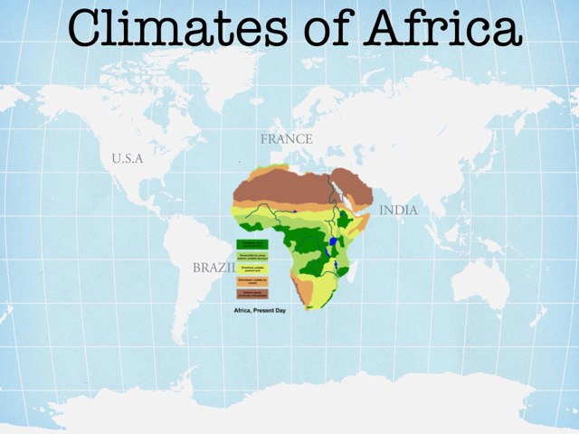 Climates of Africa by Cait Pringle
