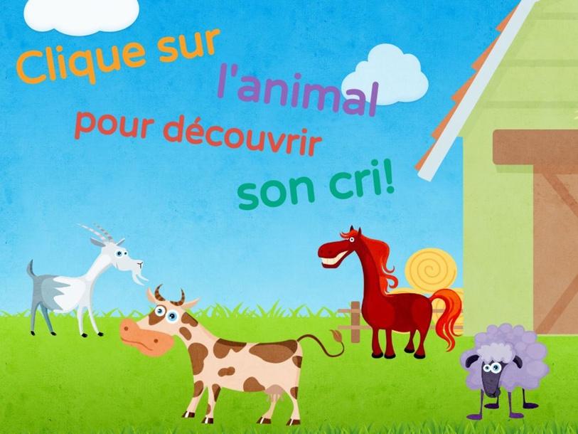 Clique sur l'animal pour découvrir son cri! by SAAC FSAA Université Laval