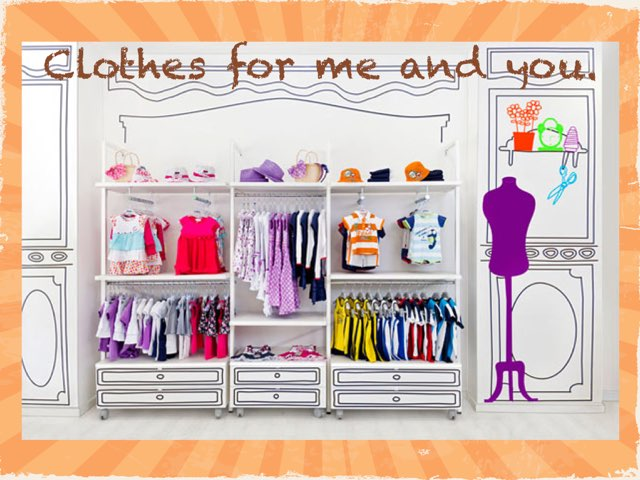 Clothes For Me And You by Iain O'Neill