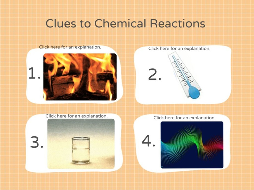 Clues to Chemical Reactions by Jill Merolla