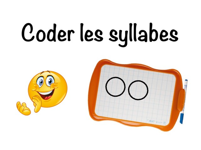 Coder Les Syllabes by Seve Haudebourg