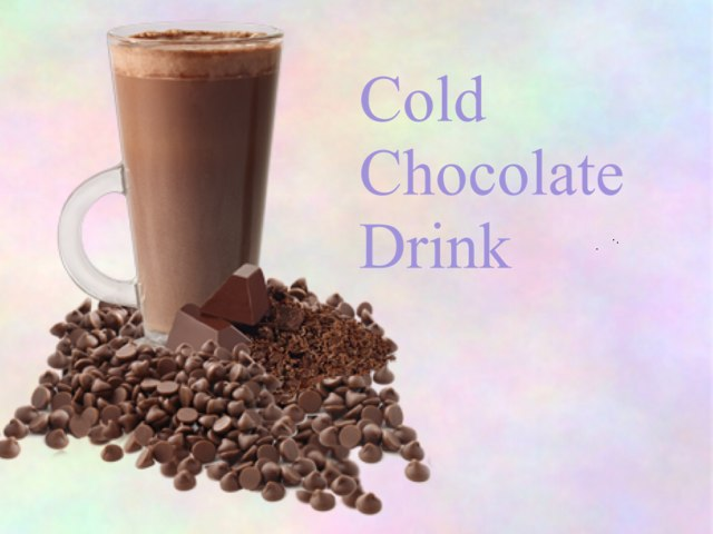 Cold Chocolate Drink by Thea Maria
