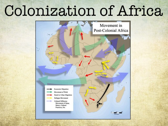 Colonization of Africa by Cait Pringle
