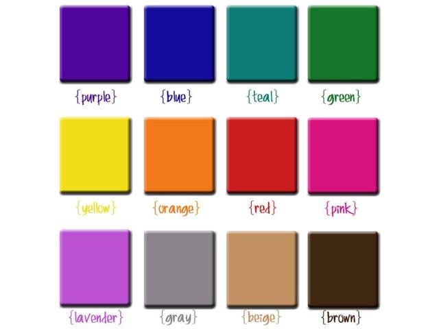 Color Palette Soundboard by Wendy Hazelwonder