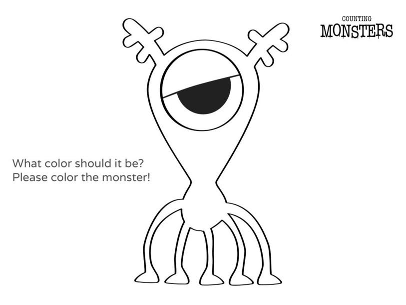 Color the monster  by JIANGXING YI