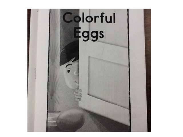 Colorful Eggs by Sarah Severance