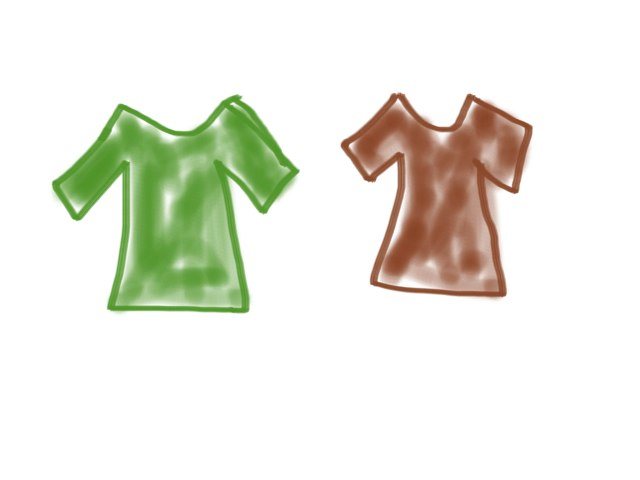 Colors - Green & Brown by Charlene Ng