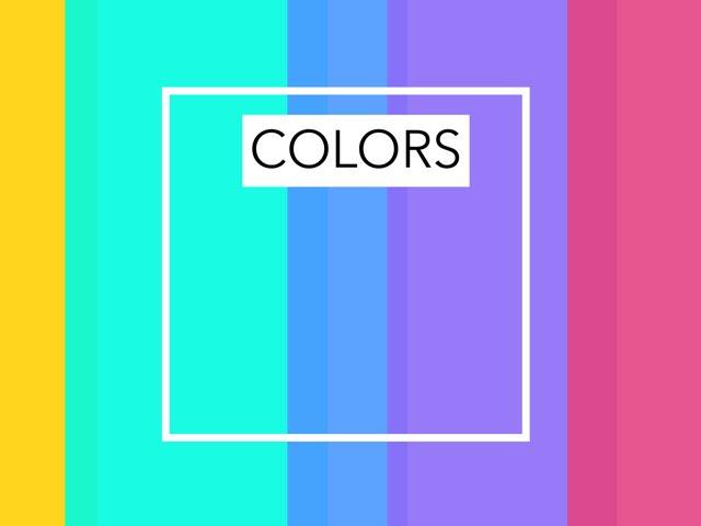 Colors In Hebrew by Morah Wilma