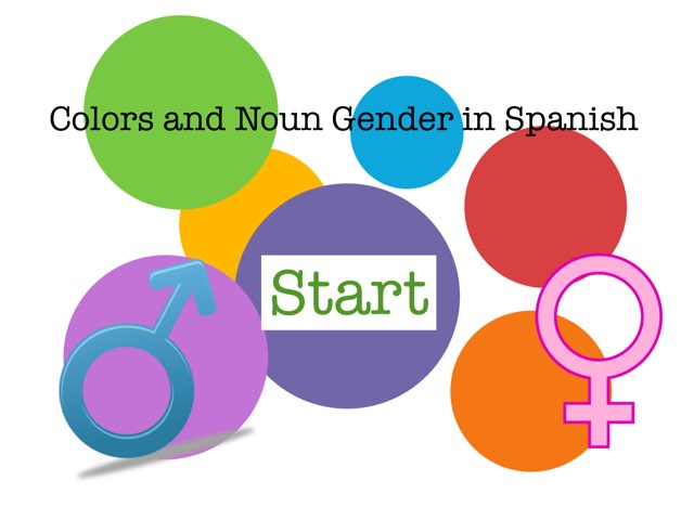 Colors and Noun Gender in Spanish by Rob Bentley