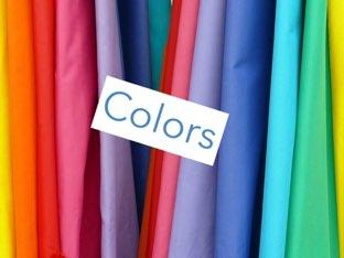 Colors by Fiona jones