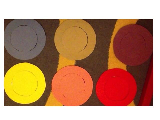 Colour Circles by Barbi Bujtas
